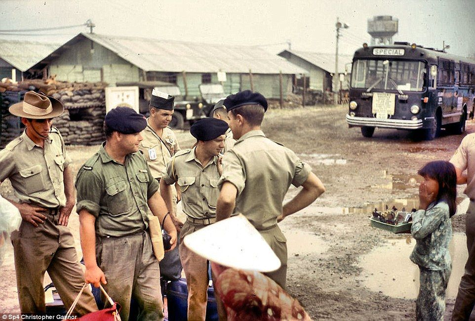 Gaynor Captured Military From Other Countries On Camera
