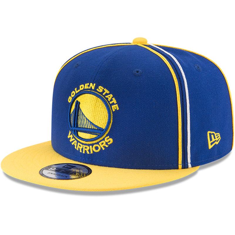 f487b150702 Golden State Warriors New Era Y2K Team Soutache 9FIFTY Adjustable Snapback  Hat - Royal
