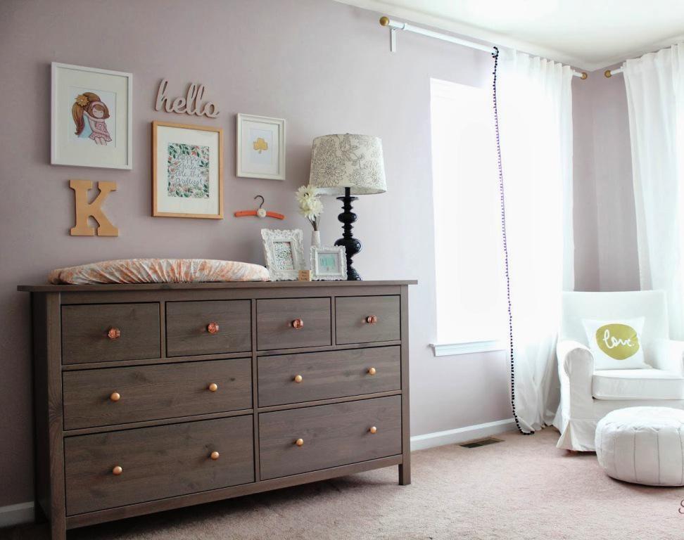 Ikea Hemnes Gray Brown Dresser