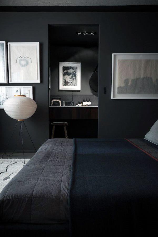 Black Bedroom Ideas For Men