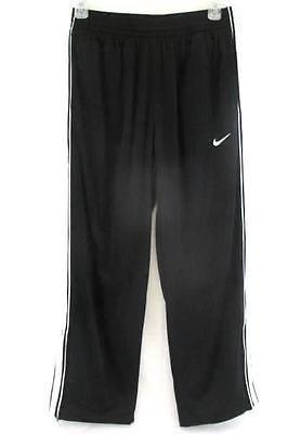 Nike Men s Sweat Pants Swoosh Jogging Pants Black White Stripe Size Large fee0b18e21a
