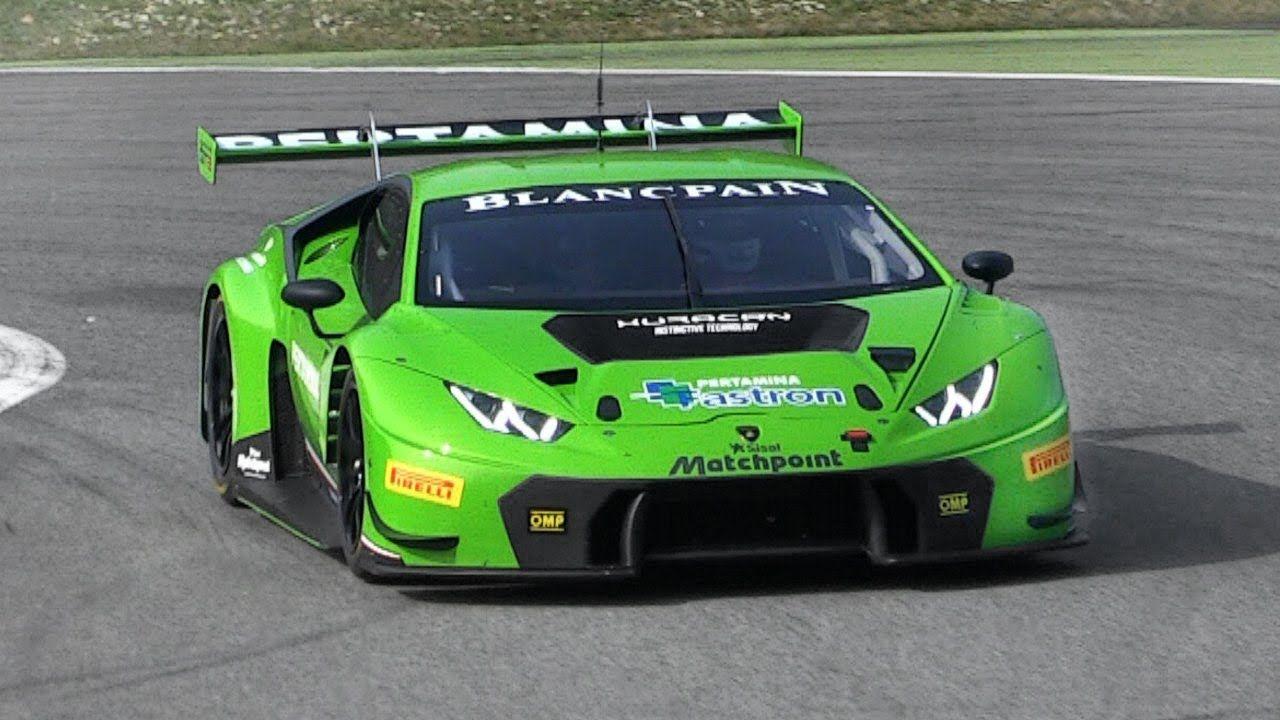 Italienischer Sportwagen-Sound: Lamborghini Huracan GT3