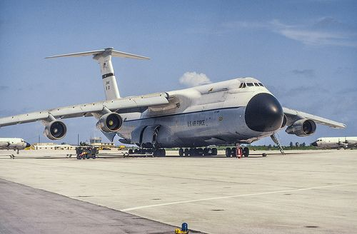 Lockheed C-5A Galaxy | Lockheed, Cargo aircraft, Aviation airplane