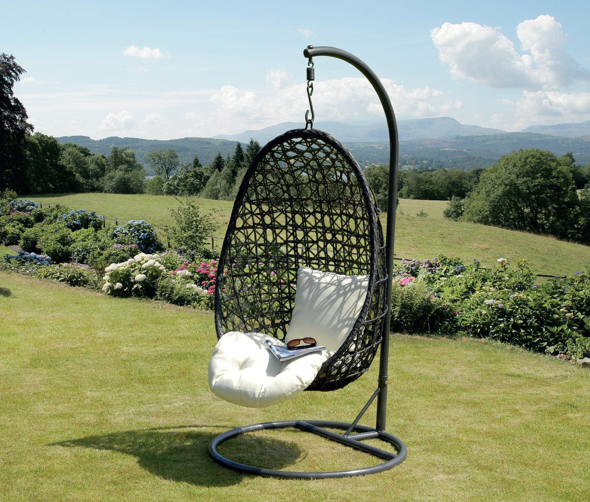 Cocoon Hanging Chair And Cushion Amazon Hanging chair