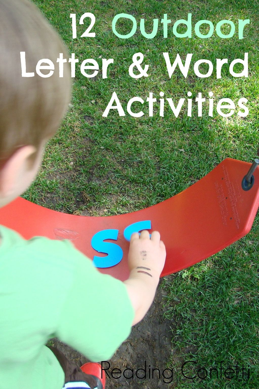 12 outdoor activities that teach kids letters and words for preschoolers78 for
