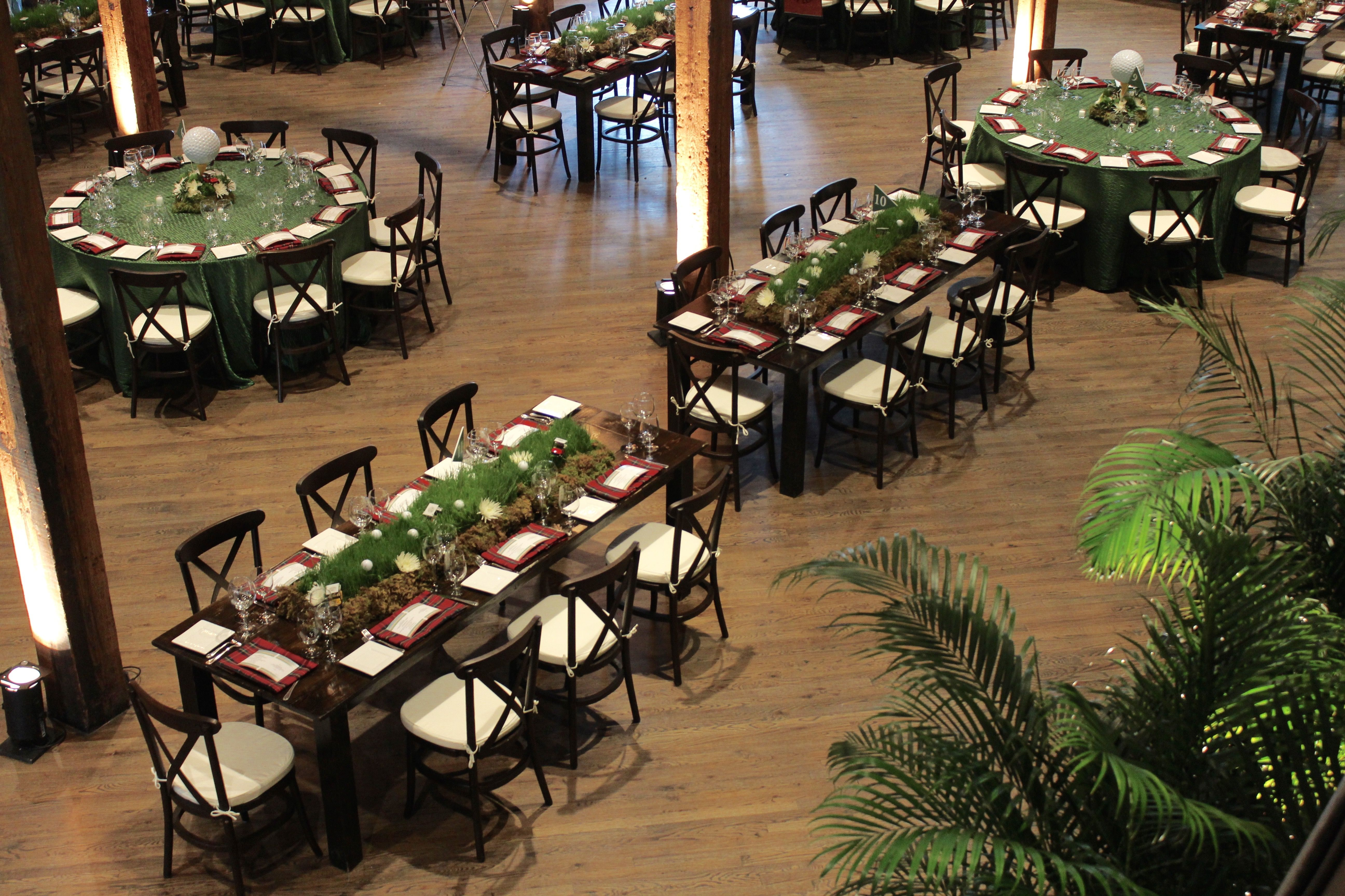 Golf theme event    Rogers Group Inc. CEO Retirement Party    Designed by: Randi Events   Themed ...