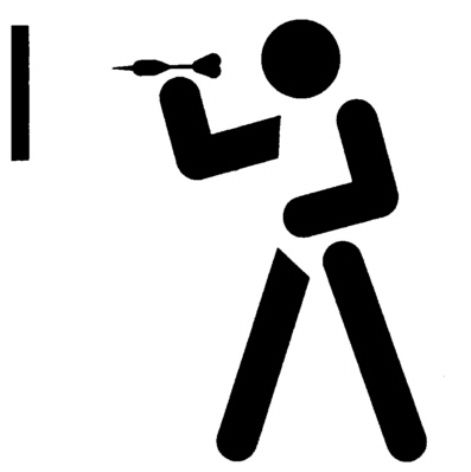 Throwing Darts logo