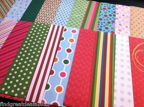 26 6 x6 Holiday Christmas Scrapbook Paper Lot Crafts Cards Scrapbooking New | eBay #scrapbooking #christmaspaper #crafts #christmas_scrapbook_paper #Holidaypatterns #kidsprojects #Holidaycrafts #depotdeals #ebay #greetingcardprojects