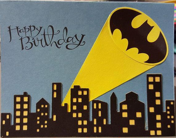 BATMAN HAPPY FATHER/'S DAY CARD DC COMICS NEW GIFT