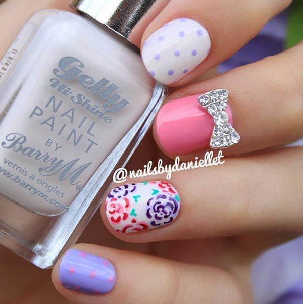 32 amazing nail design ideas for short nails beautiful and natural ecstasycoffee - Nail Design Ideas For Short Nails
