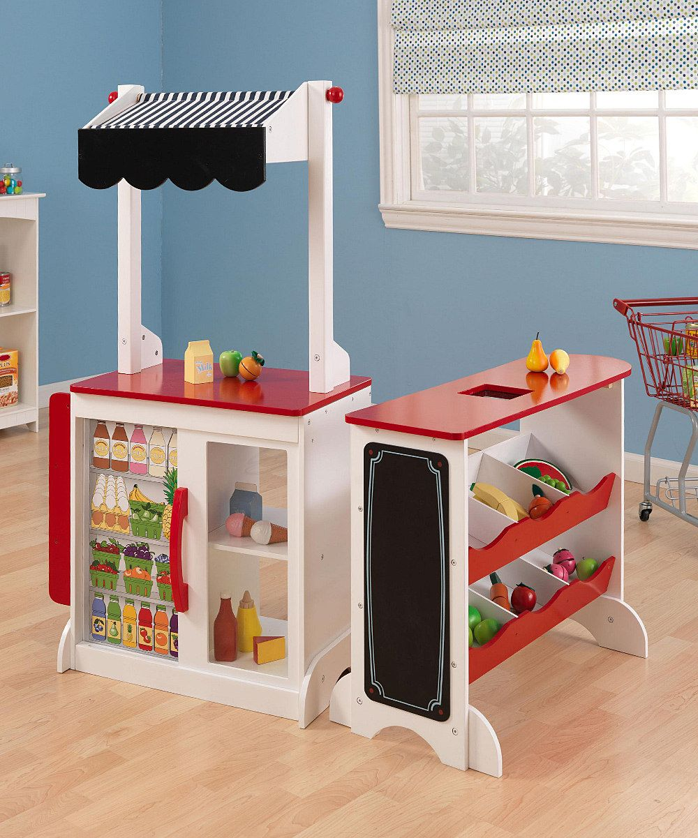Grocery store play set daily deals for moms babies and for Kitchen set deals