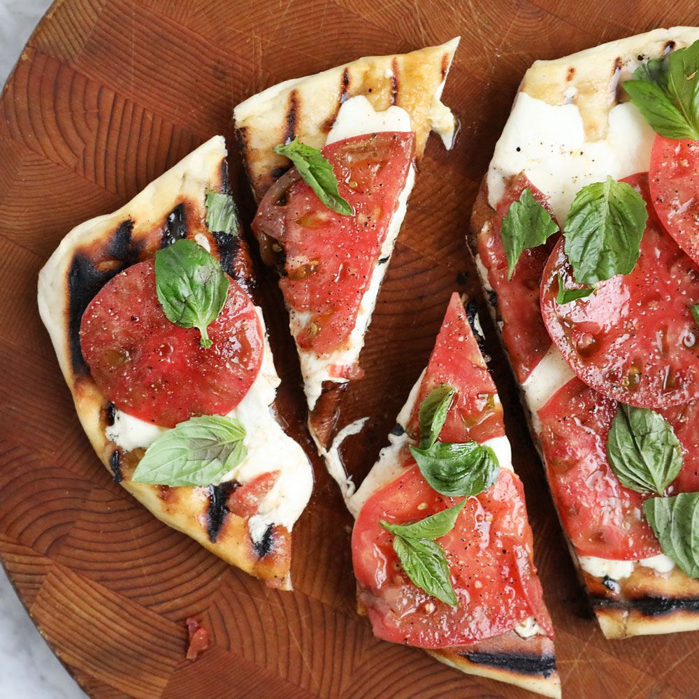Summer Margherita Pizzas Recipe Recipes Margherita Pizza Wine Recipes