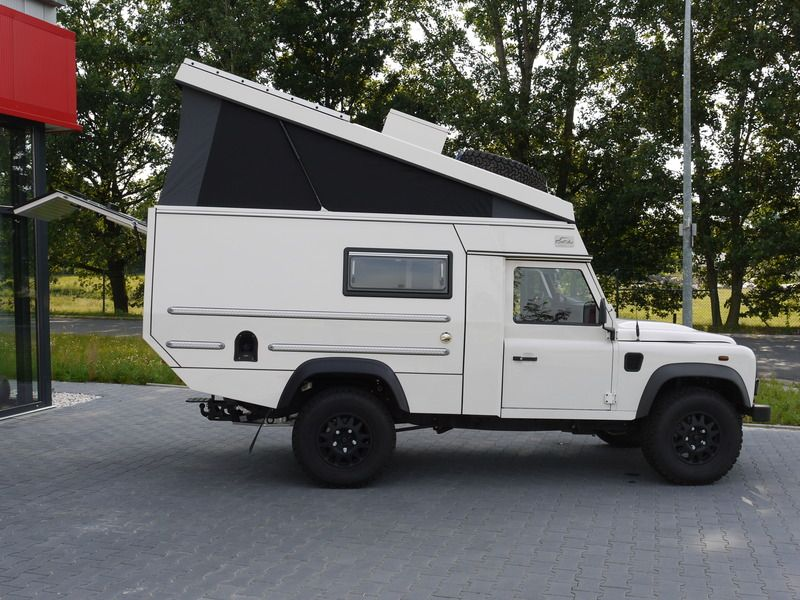custom campers land rover 110 pick up trailers and. Black Bedroom Furniture Sets. Home Design Ideas