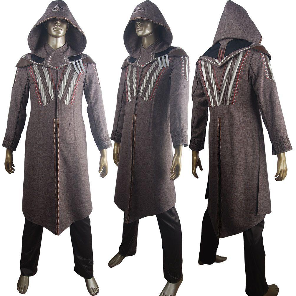 Kids boys adults Assassin's Creed Cal Lynch cosplay halloween ...