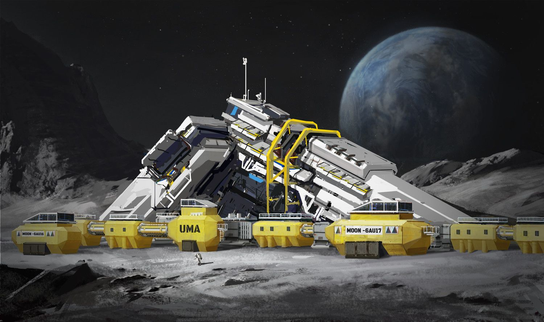moon base space engineers - photo #10
