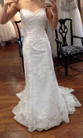 Maggie Sottero Emma Marie Gown Wedding Dress New Size 6 950 Online Wedding Dress Mermaid Wedding Dress Wedding Dress Shopping