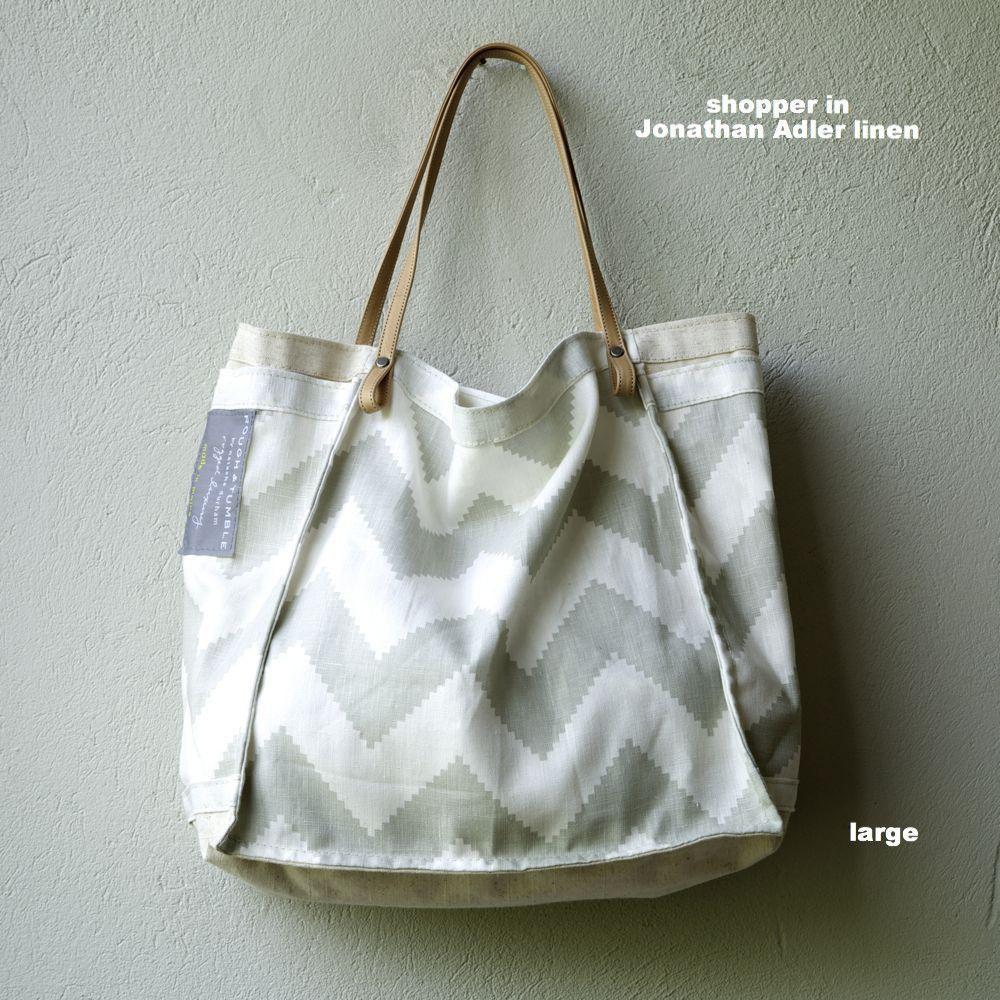 Shopper Waxed Cotton Canvas Waxed Cotton Custom Bags Cotton Canvas