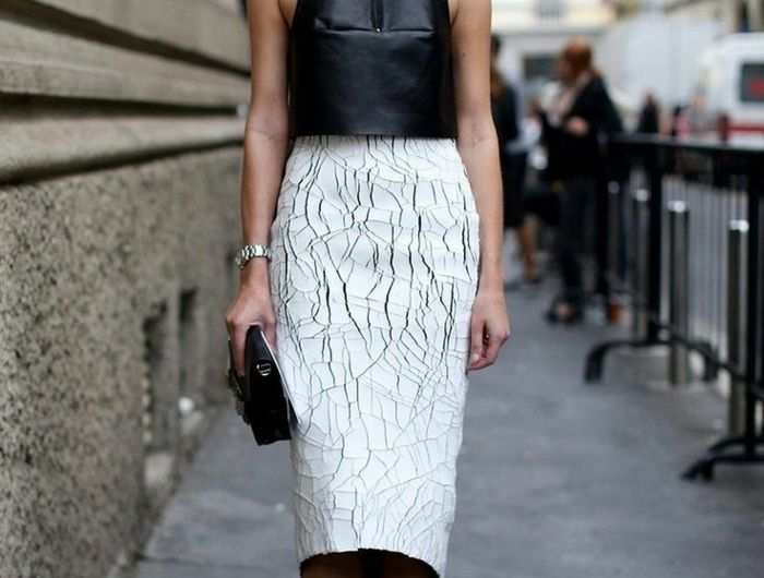 Rien de plus féminin que la jupe crayon !
