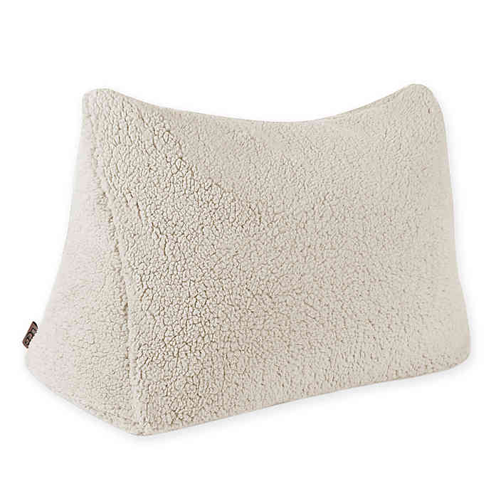 UGG® Classic Sherpa Reading Wedge Pillow Bed Bath