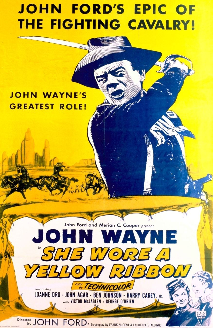 Watch Full She Wore a Yellow Ribbon ⊗♥√ Online John