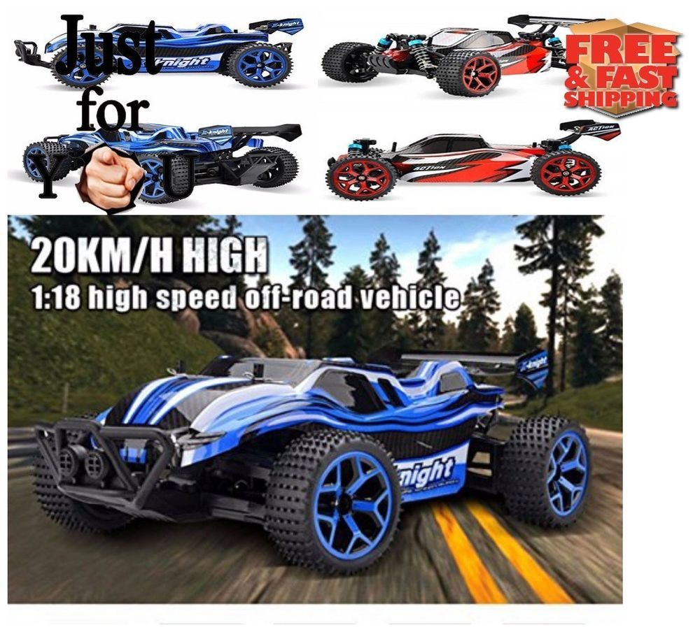 Christmas Gift For Kid Boy Rc Car High Sd 4wd Electric Truck Remote Control Rabing