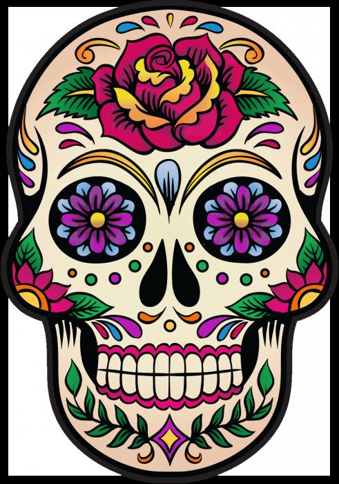 Fab76af9c29815f7d9faee5739d2cfb0 Png 491 700 Sugar Skull Artwork Sugar Skull Painting Skull Artwork