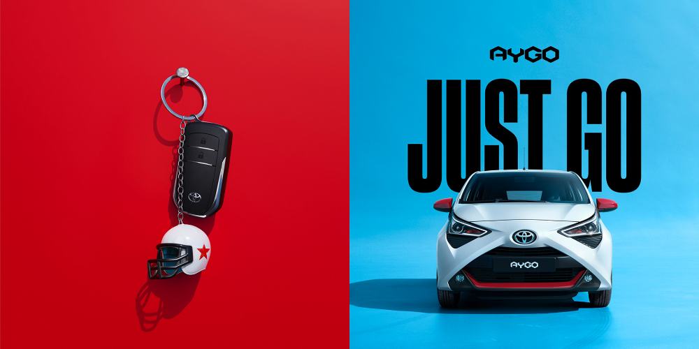Pin By Cs Chong On Ad Car Toyota Aygo Toyota Car Advertising Design