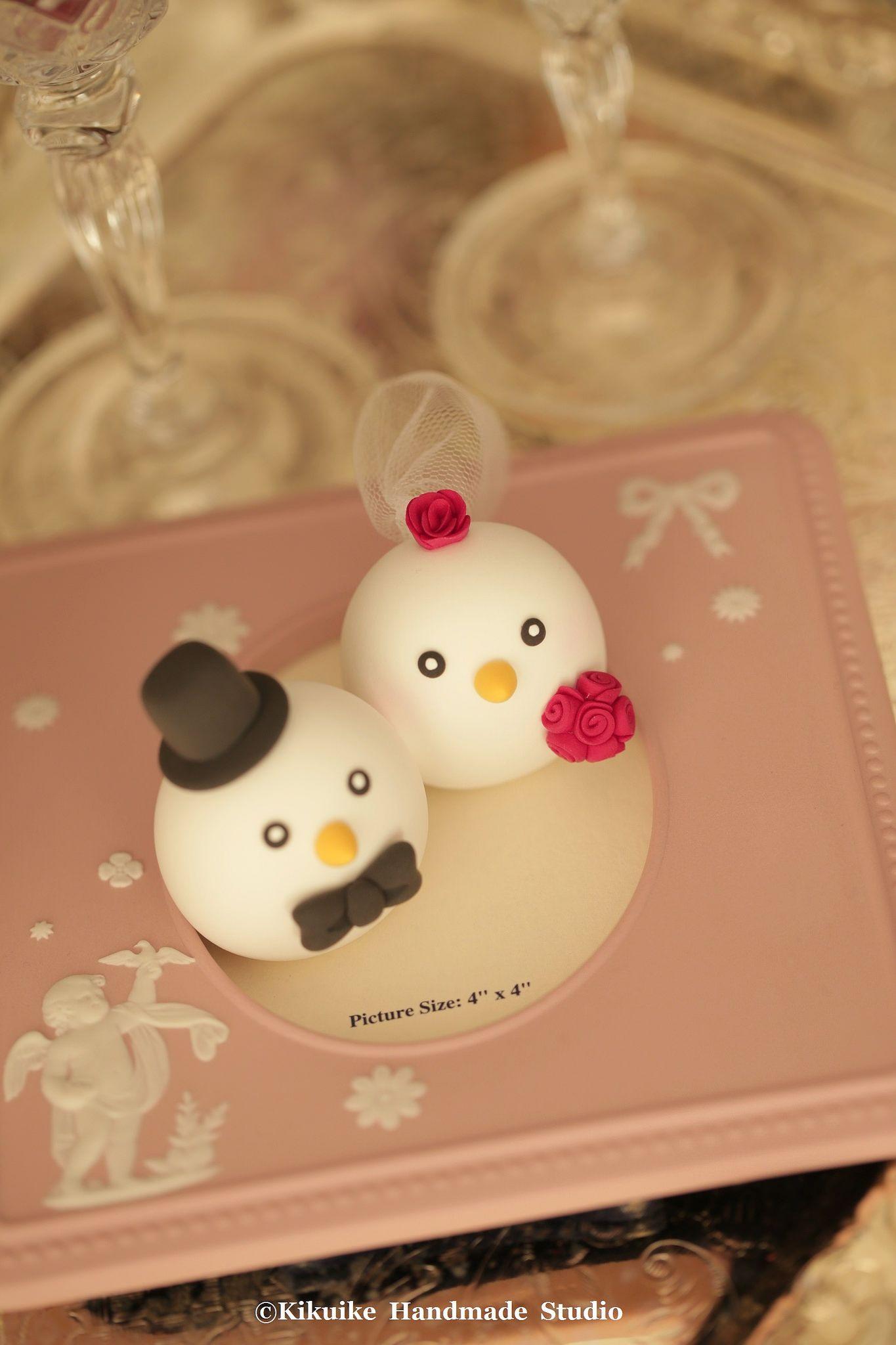 https://flic.kr/p/Bz5TCZ | Birds wedding cake topper,love birds wedding cake topper | www.etsy.com/listing/229055666/birds-wedding-cake-topperl...