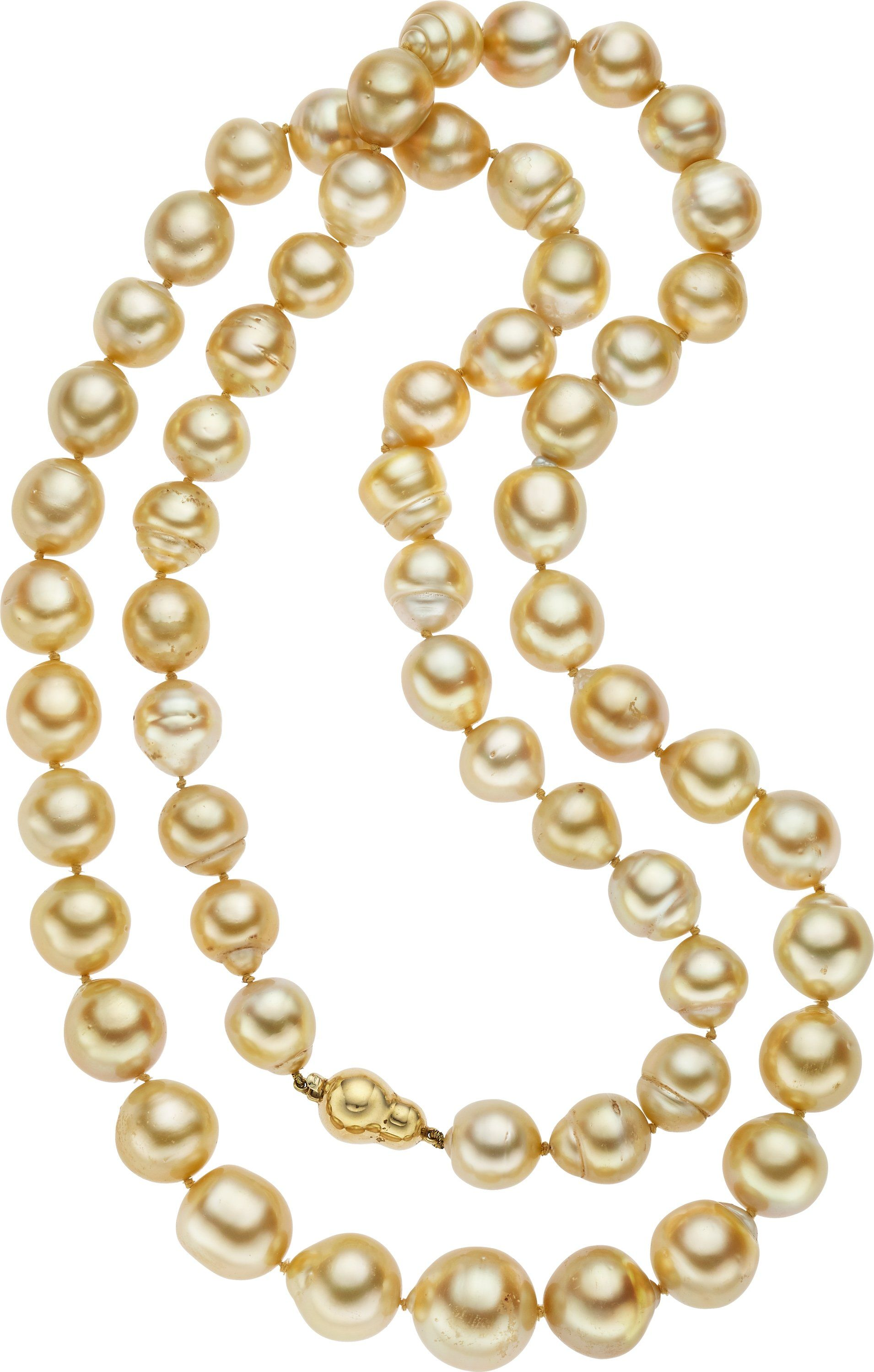 freshwater cultured white necklace pearl pearls in gold