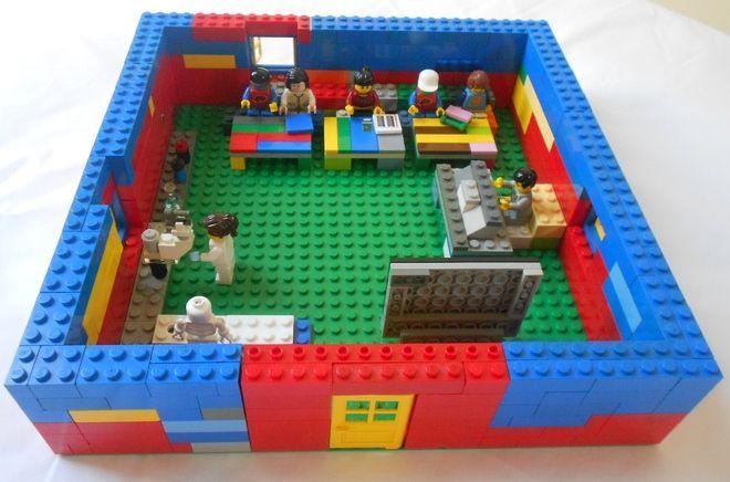 Classroom | LEGO - Interior (Libraries, Schools, Other Public ...