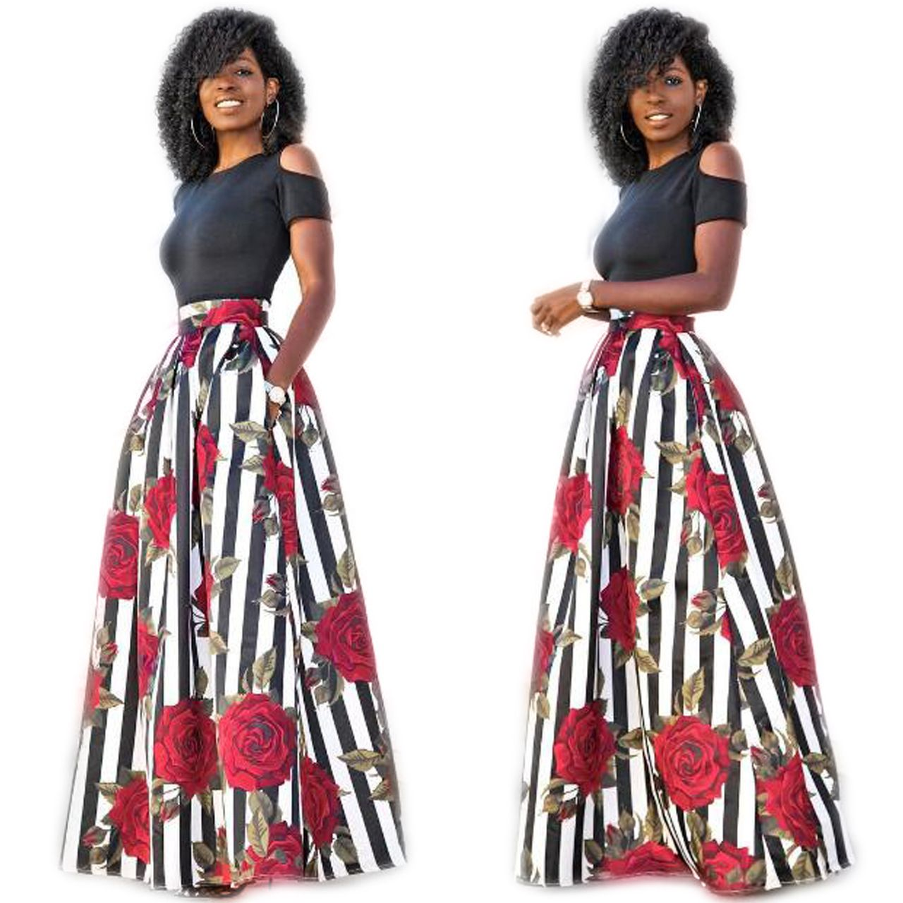 2017 Robe Africaine African Traditional Dresses African Clothing ...