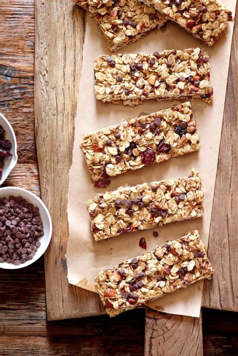 Homemade Granola Bars From Www Whatsgabycooking Com And A