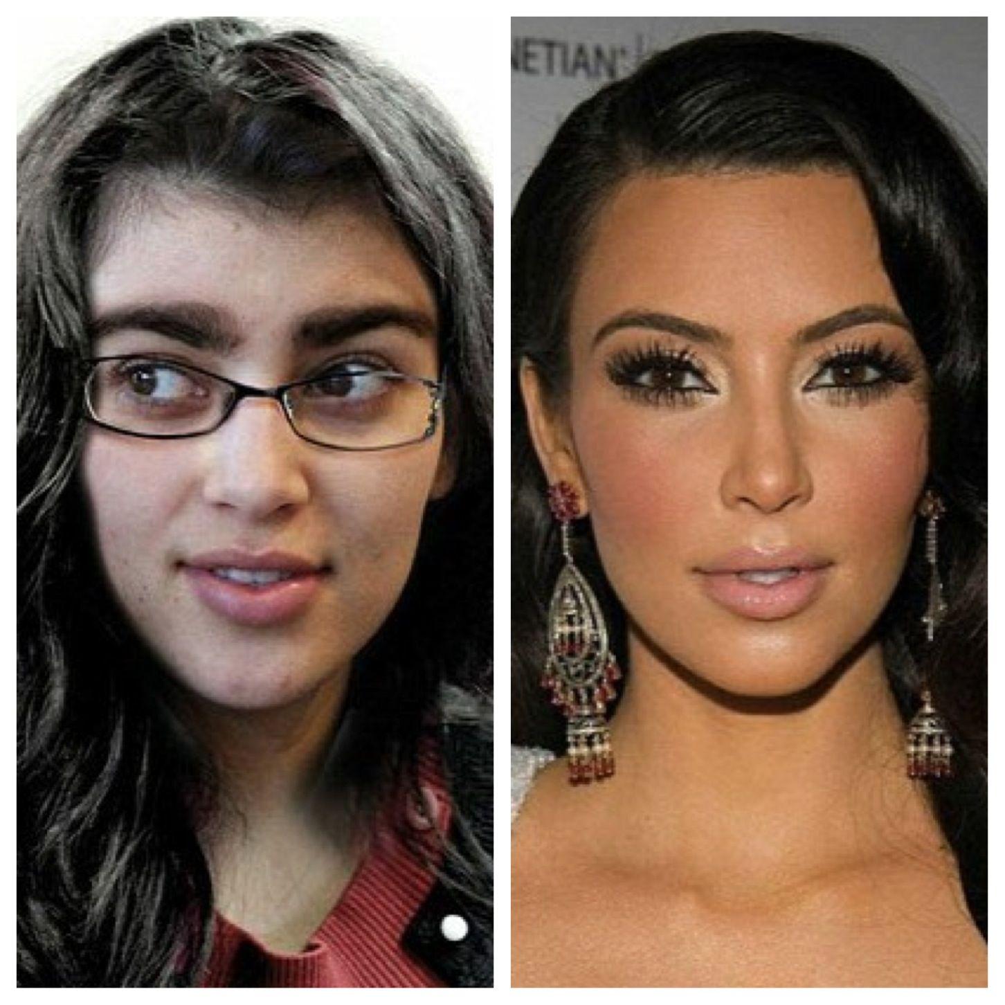 Kim kardashian eyebrow makeover ladolcesalon eyebrows for Ariadne artiles reflejos
