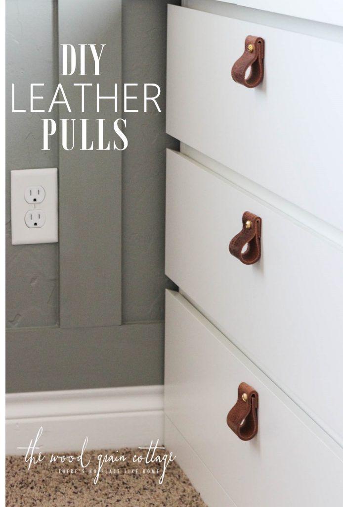 Diy Leather Pulls Diy Leather Pulls Door Handle Diy Leather Diy