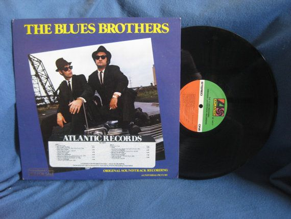 Rare Vintage The Blues Brothers Original By Sweetleafvinyl On Etsy 11 99 Vinyl Sales Blues Brothers Atlantic Records