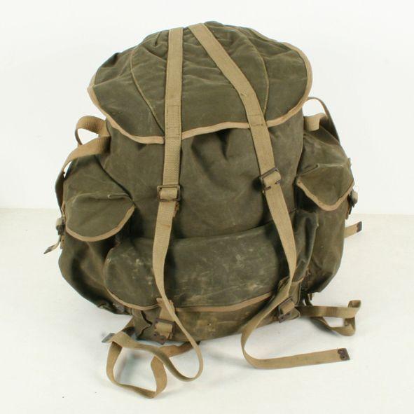 f00f1913a2 Vintage 1944 Original British Commando Bergen Rucksack   Bags ...
