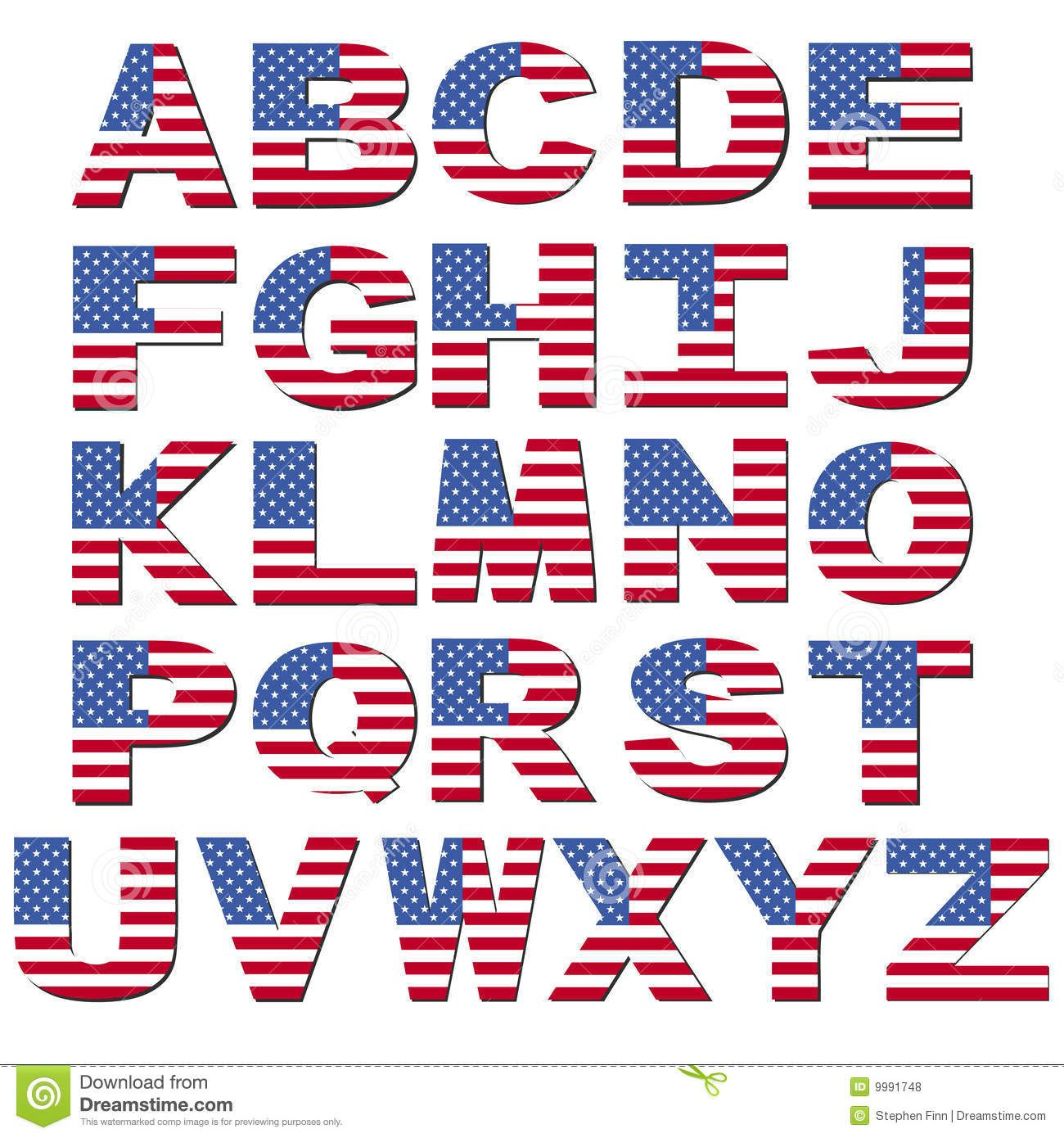 388a0dd0359 American Flag Font - Download From Over 62 Million High Quality Stock  Photos