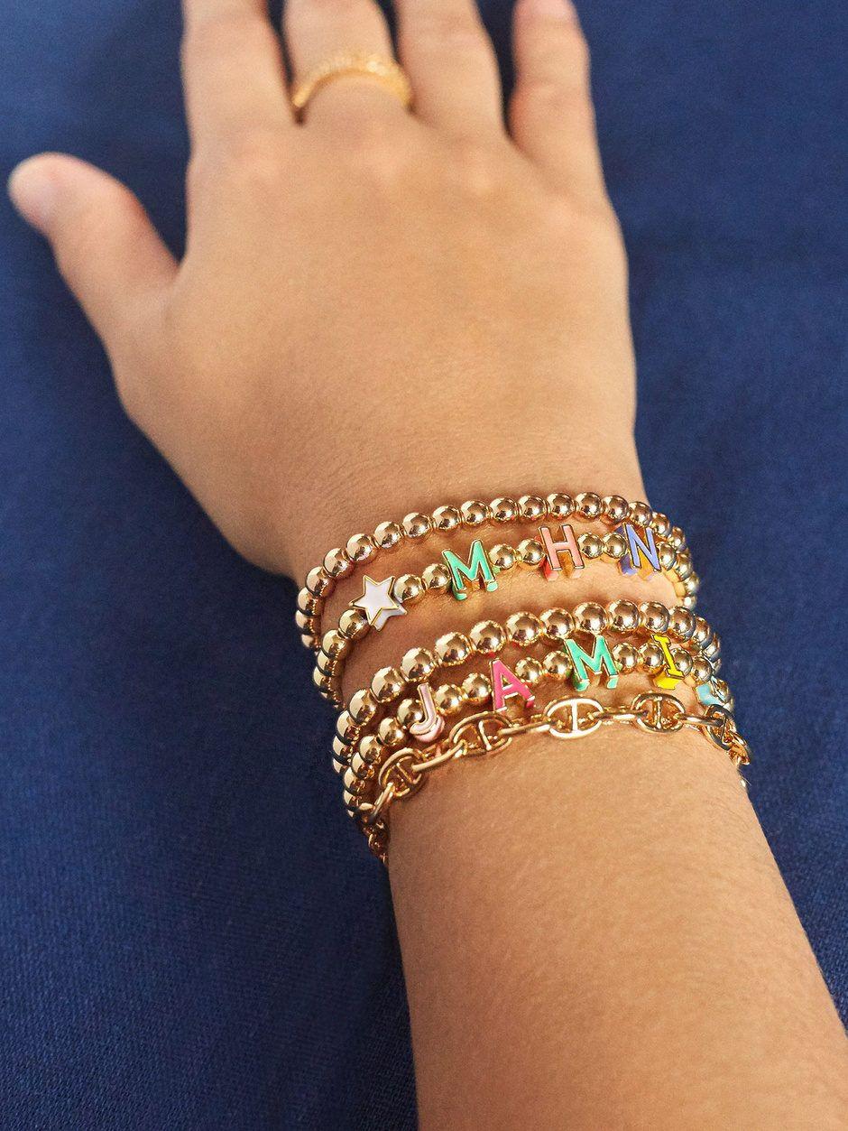 9MM I Woke up like this Stack Stretch Bracelets 4