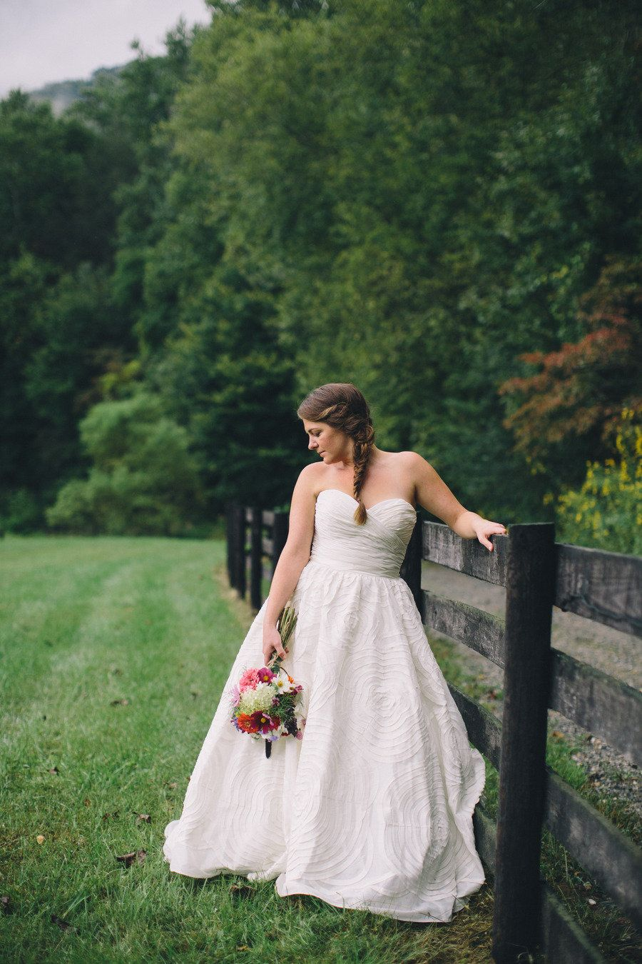 Rainy asheville wedding from olivia griffin photography for Wedding dresses asheville nc