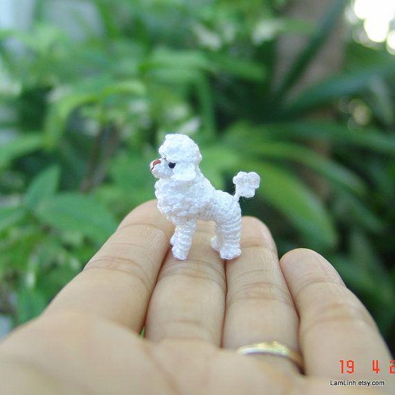 Miniature knitted doll Amigurumi doll Gift idea Doll house Crochet ... | 570x570