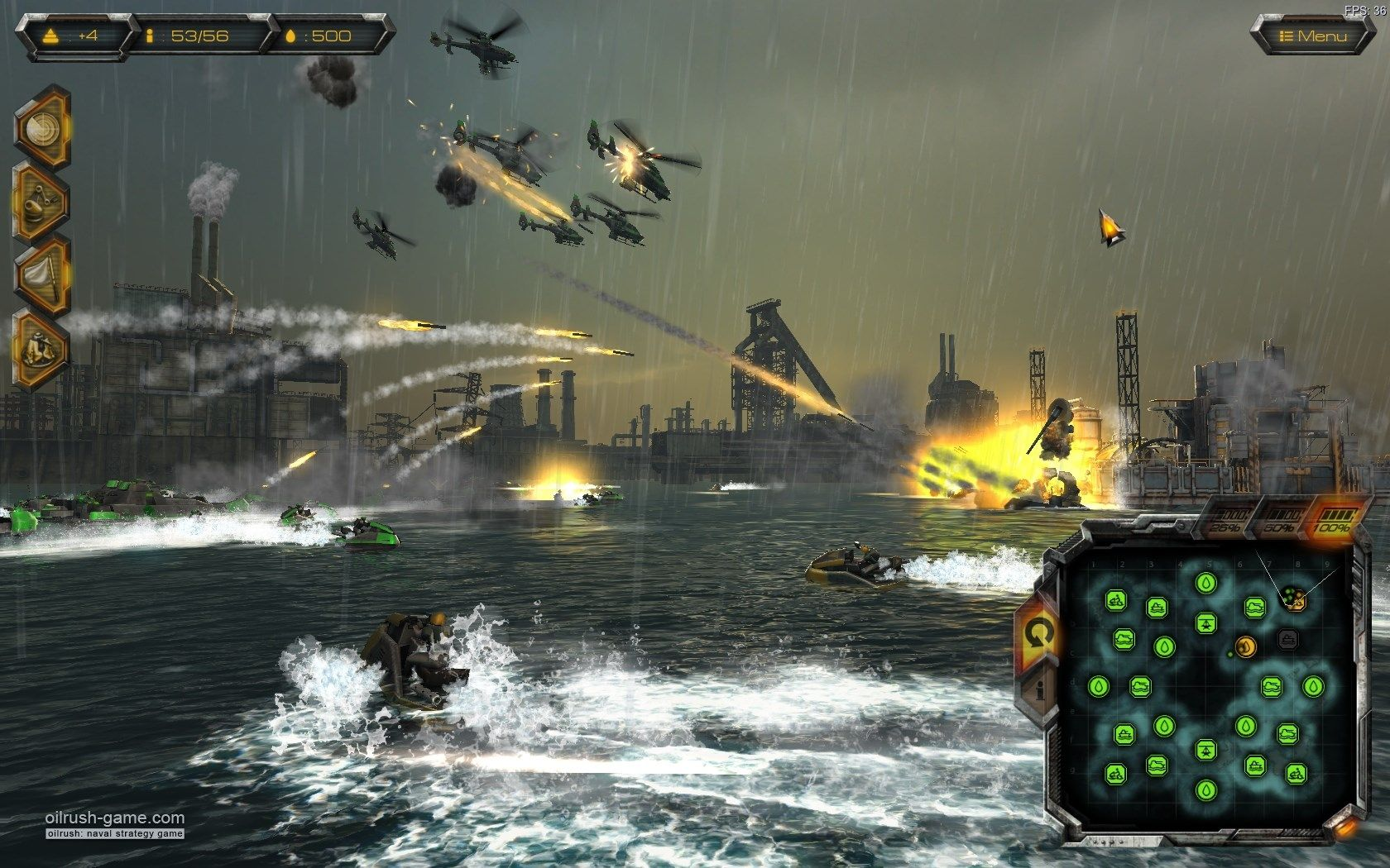 hd wallpaper oil rush Strategy games, Real time strategy