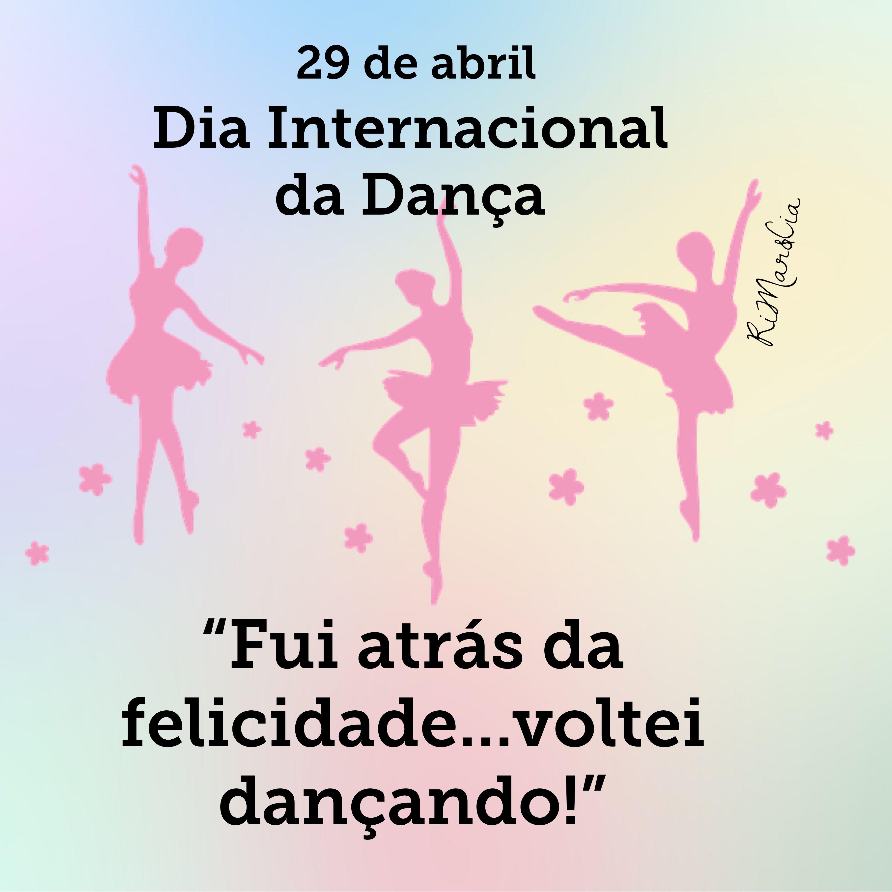 Pin De Erica Dias Em Aromas Em 2020 Dia Internacional Da Danca