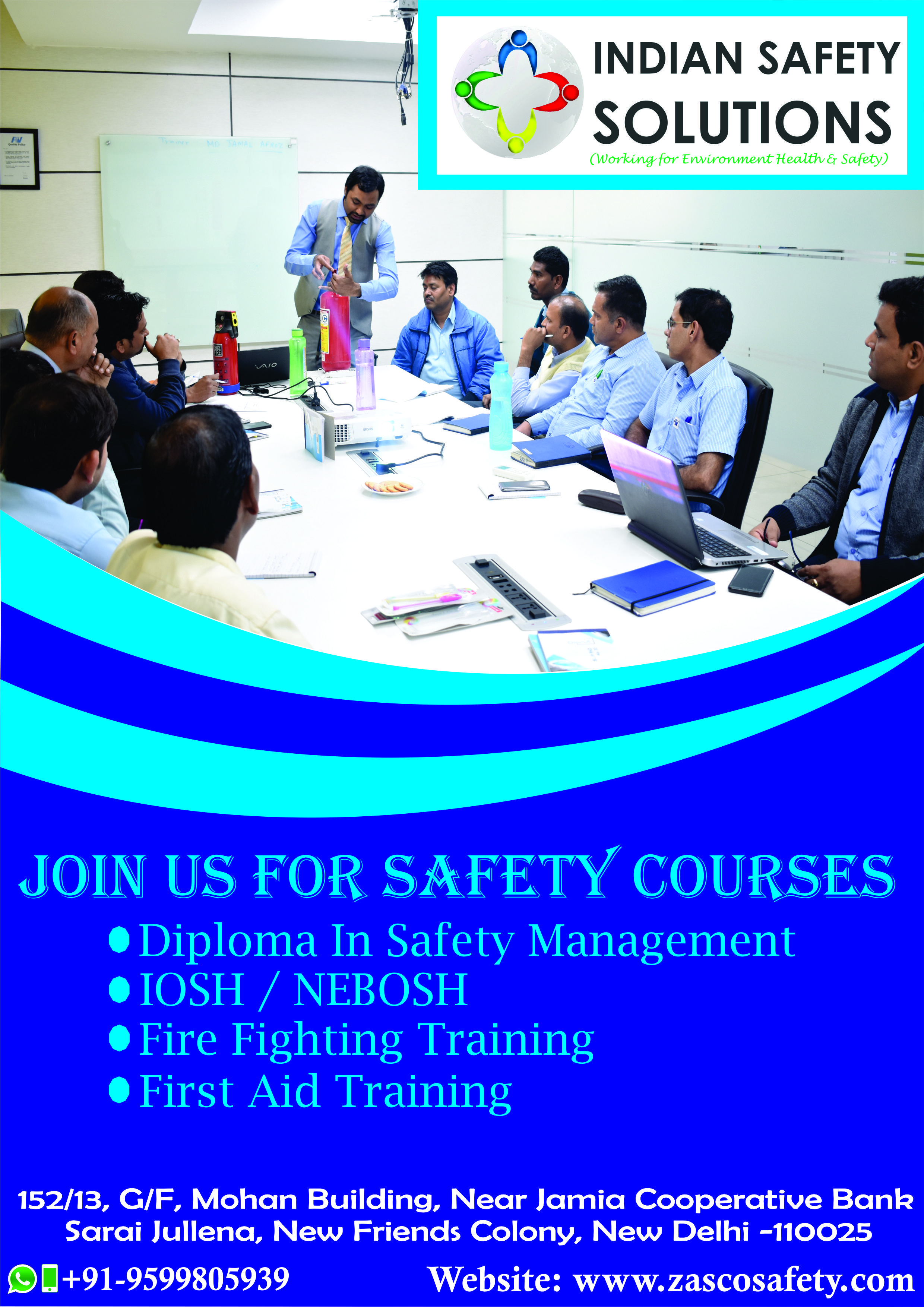 Industrial Fire Safety, Diploma in Industrial Safety