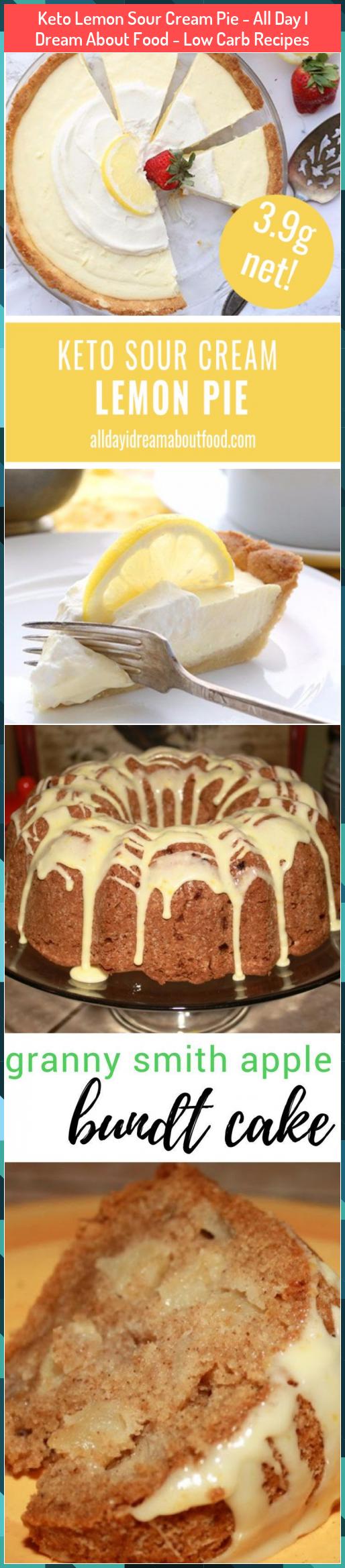 Keto Lemon Sour Cream Pie All Day I Dream About Food Low Carb Recipes Carb Cream Day Dream Food Keto In 2020 Lemon Sour Cream Pie Dessert Recipes Cream Pie