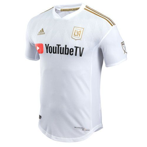 409a4a4b518 Be LAFC's #1 fan with this 2018 Secondary Authentic Jersey from adidas.  This jersey features bold team graphics and adizero fabric technology that  will keep ...
