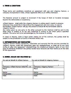 Service Level Agreement Between Departments