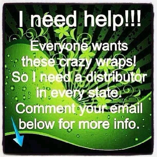 If interested contact me @ https://lesawrapme.myitworks.com/ContactMe