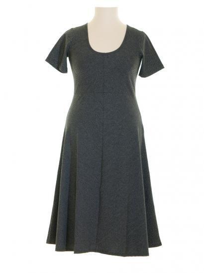 Kleid Streifen, schwarz | Kleider, Basic kleid, Kleid mit ...