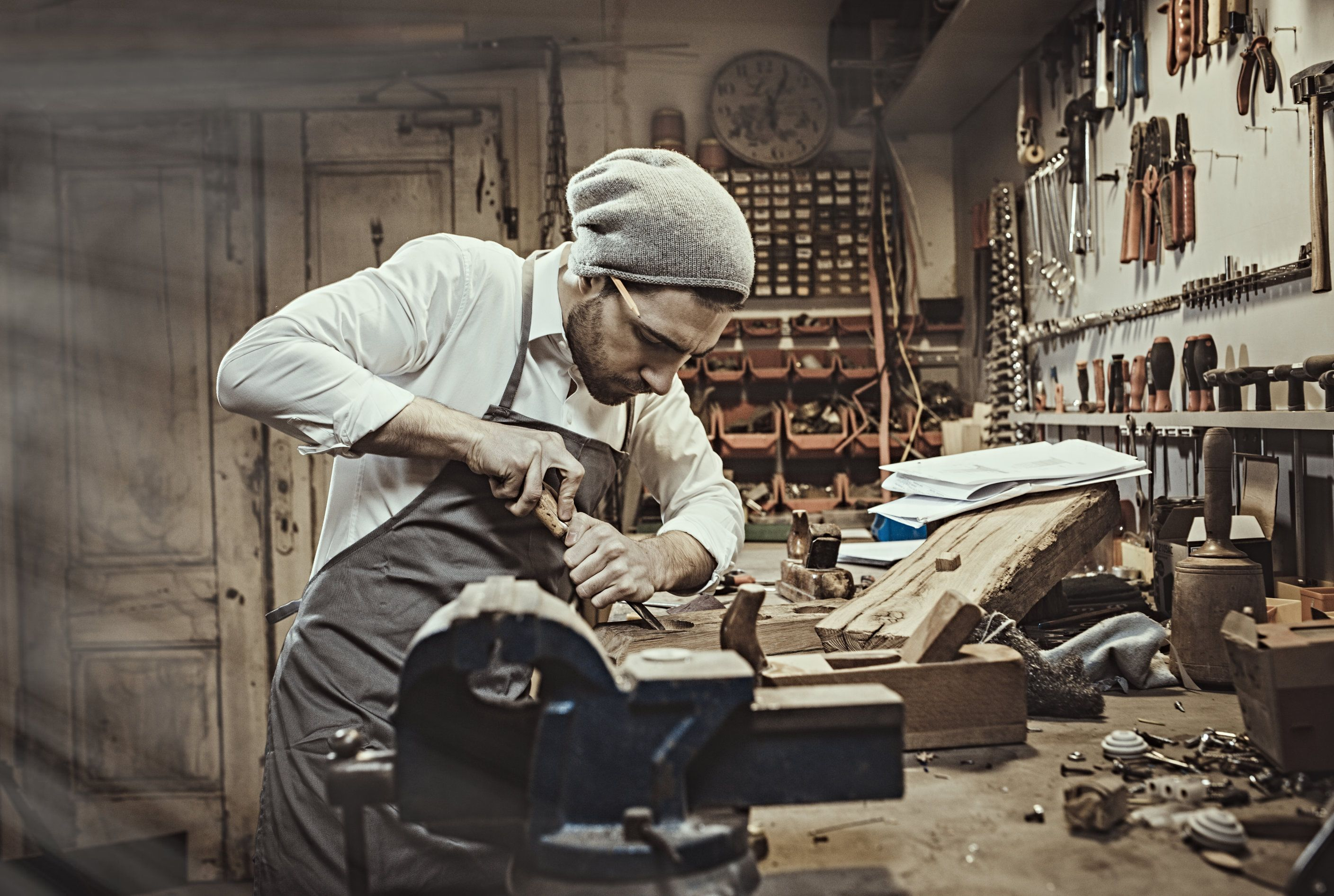 Artisans Painstakingly Taking The Time To Create Unique Products