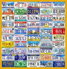 Choose from all 50 States President Ronald Reagan Metal License Plate